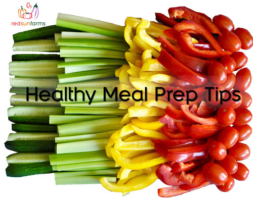 Healthy Meal Prep Tips