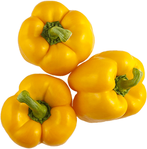 Yellow Sweet Bell Peppers
