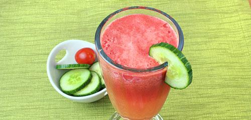 Watermelon Tomato Cooler