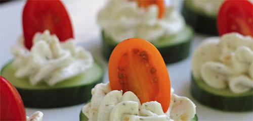 Herbed Cucumber Bites